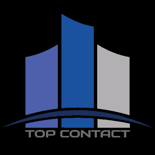 Logo Top Contact - Ufficio commerciale - telecomunicazioni